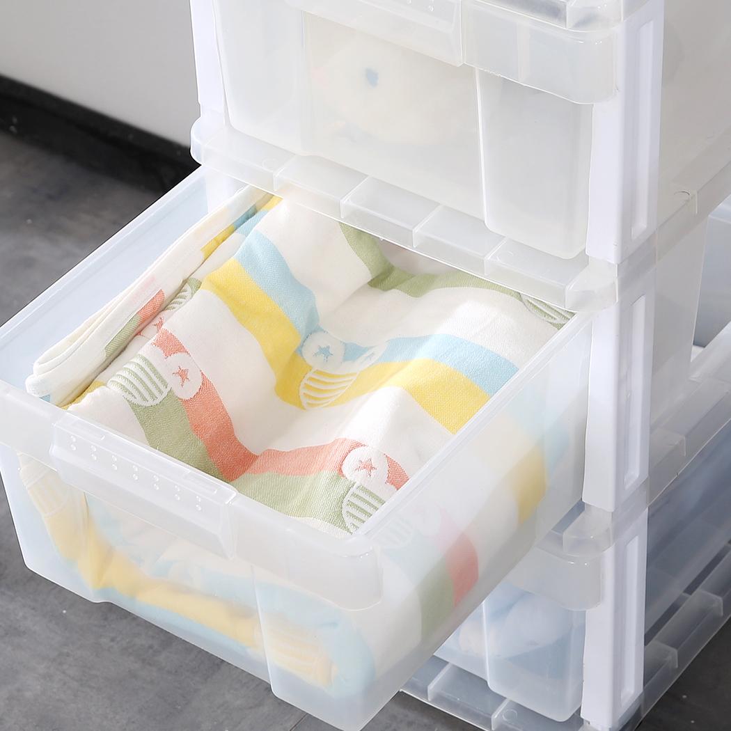 3 Drawer Rolling Storage Cart Scrapbook Paper Office ...